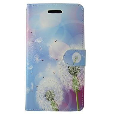 tok Για Huawei Huawei Πορτοφόλι / Θήκη καρτών / με βάση στήριξης Πικραλίδα / Λουλούδι Σκληρή PU δέρμα