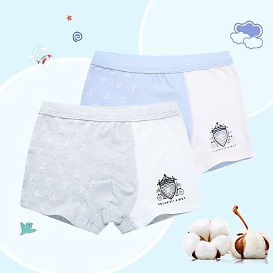 preiswerte Unterwäsche & Socken für Jungen-Kinder Jungen Druck Baumwolle Unterwäsche & Socken Blau