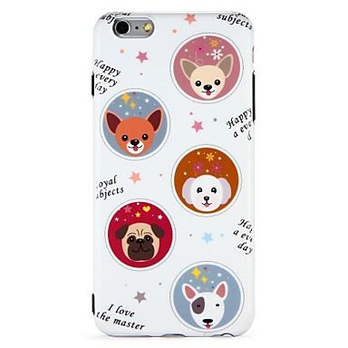 58052ef4e96 Funda Para Apple iPhone 7 / iPhone 6 IMD / Diseños Funda Trasera Animal /  Caricatura Suave TPU para iPhone 7 Plus / iPhone 7 / iPhone 6s 6479627 2019  – ...
