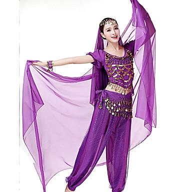 baratos Roupa e Sapatos de Dança-Dança do Ventre Mulheres Espetáculo Elastano Véu