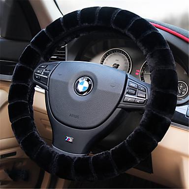 voordelige Auto-interieur accessoires-Auto-stuurhoezen Pluche 38cm Rood / Beige / Grijs Voor Volkswagen Bora / Tiguan / Jetta Alle jaren
