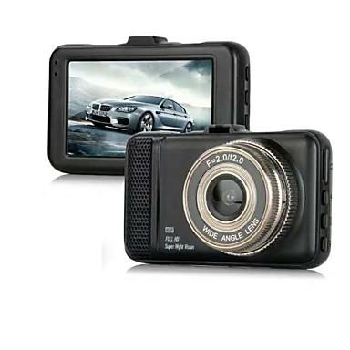 levne Auto Elektronika-848 x 480 / 1280 x 720 / 1440 x 1080 Auto DVR 170 stupňů Široký úhel 3 inch Dash Cam s G-Sensor / Parkovací mód Ne Záznamník vozu / 1920 x 1080