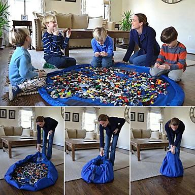Μαξιλάρι αποθήκευσης παιχνιδιών Mat Φορητά Μεγάλο Μέγεθος Μαλακό Πλαστικό Παιδικά Παιχνίδια Δώρο 1 pcs
