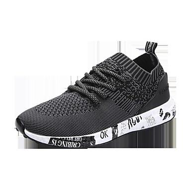 0d4b6d638 للرجال أحذية تول ربيع خريف مريح أحذية رياضية إلى فضفاض أسود رمادي أزرق  6499693 2019 – $22.99