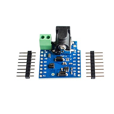 dc power shield v1.1.0 για το wemos d1 mini