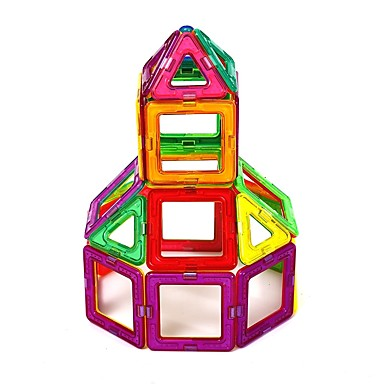Μαγνητικό μπλοκ Μαγνητικά πλακίδια Τουβλάκια Οικογένεια Μεταμορφώσιμος Χειροποίητο Παιχνίδια αποσυμπίεσης Κινούμενα σχέδια Αγορίστικα Κοριτσίστικα Παιχνίδια Δώρο