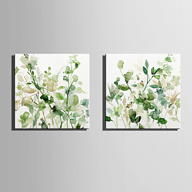 cheap Wall Art-Canvas Print Modern, Two Panels Canvas Square Print Wall Decor Home Decoration