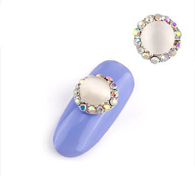 2 pcs Κοσμήματα Νυχιών Για τέχνη νυχιών Μανικιούρ Πεντικιούρ Καθημερινά Μοντέρνα / Κοσμήματα νυχιών