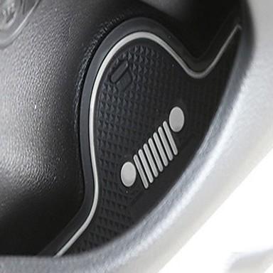 levne Koberečky do auta-Automobilový průmysl Groove Mat Koberečky do auta Pro Jeep Odpadlík