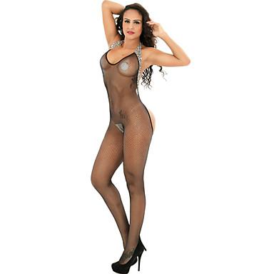 b07fe0f4d981b بدلات ملابس نوم للمرأة-رقيق نايلون سباندكس