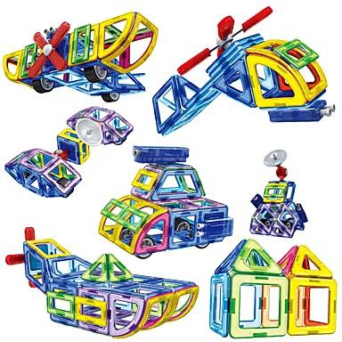 Μαγνητικό μπλοκ Μαγνητικά πλακίδια Τουβλάκια 110 pcs Κλασσικό Θέμα Μεταμορφώσιμος Αγορίστικα Κοριτσίστικα Παιχνίδια Δώρο