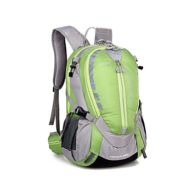 25 L Σακίδια Απλά Σακίδια Πλάτης σακκίδιο Άνετο Εξωτερική Κατασκήνωση & Πεζοπορία Πεζοπορία Υπαίθρια Άσκηση Νάιλον Πορτοκαλί Κίτρινο Πράσινο
