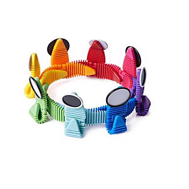 Blocos Magnéticos Azulejos magnéticos Blocos de Construir 24 pcs Animal Projetado especial Animais Interação pai-filho Moderna Para Meninos Para Meninas Brinquedos Dom / Silicone