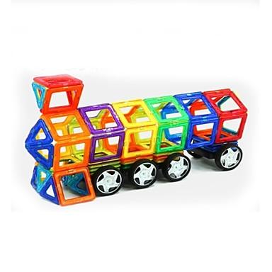 Μαγνητικό μπλοκ Μαγνητικά πλακίδια Τουβλάκια 158 pcs Αρχιτεκτονική Οχήματα Πολεμιστής Μεταμορφώσιμος Αλληλεπίδραση γονέα-παιδιού Σύγχρονο Κλασσικό & Διαχρονικό Κομψό & Μοντέρνο