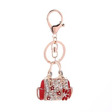 Μπρελόκ Καθημερινό Μοντέρνα Μοδάτο Δαχτυλίδι Κοσμήματα Κόκκινο / Ροζ Για Δώρο Καθημερινά