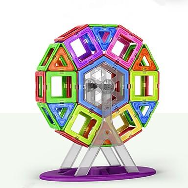 Μαγνητικό μπλοκ Μαγνητικά πλακίδια Τουβλάκια 109 pcs Κλασσικό Θέμα Μεταμορφώσιμος Κλασσικό Κλασσικό & Διαχρονικό Αγορίστικα Κοριτσίστικα Παιχνίδια Δώρο