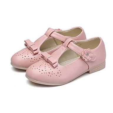 b4ef0d8b8284 Girls  Shoes PU(Polyurethane) Spring   Summer Flower Girl Shoes   Tiny Heels  for Teens Heels for Black   Red   Pink 6534778 2019 –  11.99