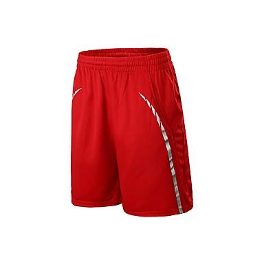 Ανδρικά Pantaloni Scurți de Alergat Spandex Αθλητισμός Παντελόνια Φούστες Τρέξιμο Φοριέται Κόκκινο