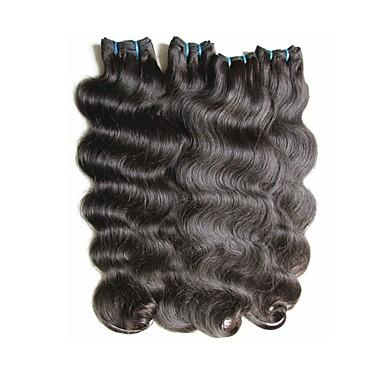 povoljno Ekstenzije za kosu-Remy kosa Remy umeci od ljudske kose 8a Tijelo Wave Brazilska kosa 400 g 12 mjeseci Dnevno