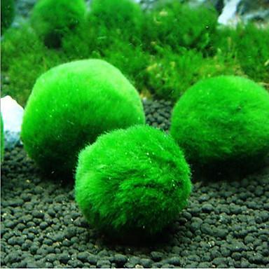 Ενυδρείο ψαριών Διακόσμηση Ενυδρείου Φυτά Πράσινο Διακοσμητικό 1 3*3 cm