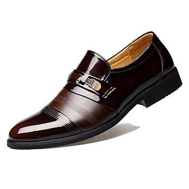 Παπούτσια άνεσης Λουστρίν Άνοιξη / Φθινόπωρο Δουλειά Μοκασίνια & Ευκολόφορετα Μαύρο / Καφέ / Πάρτι & Βραδινή Έξοδος