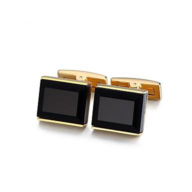 voordelige Herensieraden-Manchetknopen Standaard Modieus Kristal Broche Sieraden Gouden Voor Formeel Toimisto & ura