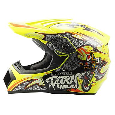 povoljno Motori i quadovi-AHP 225 Motocross Odrasli Uniseks Motocikl Kaciga Prigušivanje / Izdržljivost