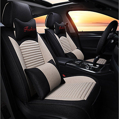 Car Seat Covers Linen Fabrics For Universal All Years General Motors 6514650 2018 16299