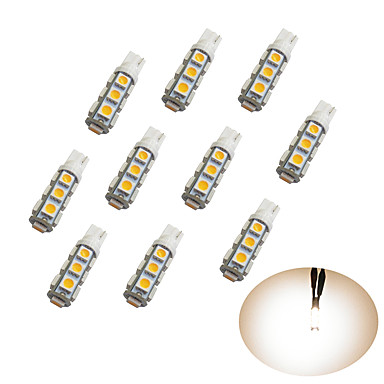 10pcs Αυτοκίνητο Λάμπες SMD 5050 Λαμπτήρες LED Φως Φλας