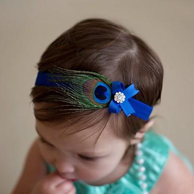 Bébé Para Meninas Outros Acessórios de Cabelo Azul Tamanho Único / Bandanas