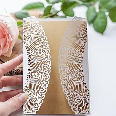 Port Foldning Bryllupsinvitationer 50stk Invitationskort