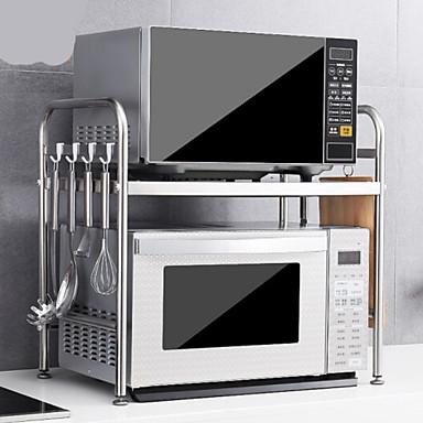 preiswerte Küchen Organisation-1pc Kochgeschirrhalter Edelstahl Kreative Küche Gadget