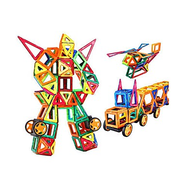 Μαγνητικό μπλοκ Μαγνητικά πλακίδια Τουβλάκια 309 pcs Αρχιτεκτονική Οχήματα Πολεμιστής Μεταμορφώσιμος Ειδικά σχεδιασμένο Αλληλεπίδραση γονέα-παιδιού Σύγχρονο Κλασσικό & Διαχρονικό Κομψό & Μοντέρνο