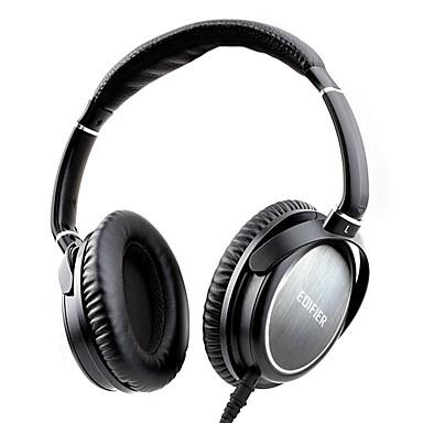 EDIFIER H850 Headband Wired Headphones Dynamic Metal Gaming Earphone with Microphone Headset