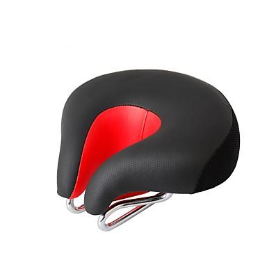 povoljno Dijelovi za bicikl-Sjedalo Izuzetno široka Udobne Jastuk Šuplji dizajn PU koža silika gel Biciklizam Cestovni bicikl Mountain Bike Crvena Zelen Plava