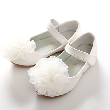 Girls shoes pu spring fall comfort novelty flower girl shoes girls shoes pu spring fall comfort novelty flower girl shoes flats appliques magic tape for white pink wedding 6519207 2018 2699 mightylinksfo