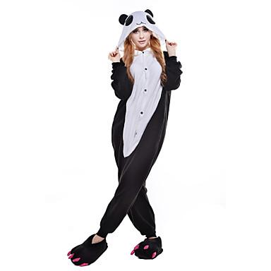 rivenditore di vendita 1413c d7905 [$29.99] Per adulto Pigiama Kigurumi Panda Fantasia animale Pigiama a  pagliaccetto Pile Fibra sintetica Nero / Bianco Cosplay Per Uomini e donne  ...