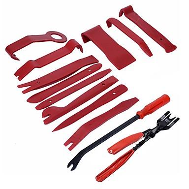 billiga Verktyg och redskap-ziqiao 13 st plast bil auto dörr inredning trim borttagning panel klipp pry öppen bar verktygssats hög kvalitet handverktyg set