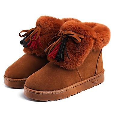 27d01d85a Otoño Cuero Zapatos Primavera De Nieve Nobuck Confort Mujer Botas q5Ig4Rwd5O