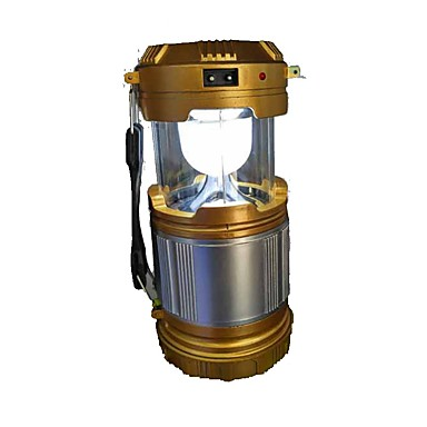 Φανάρια & Φώτα Σκηνής Φώτα Έκτακτης Ανάγκης 90 lm LED - Εκτοξευτές Αυτόματο τρόπος φωτισμού με μπαταρίες Προσαρμοσμένη Φόρμα Απλός Ηλιακή Ενέργεια Κατασκήνωση / Πεζοπορία / Εξερεύνηση Σπηλαίων Χρυσό