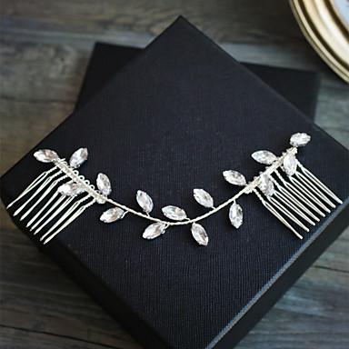 Στρας Κομμάτια μαλλιών με Τεχνητό διαμάντι 1pc Γάμου / Πάρτι / Βράδυ Headpiece