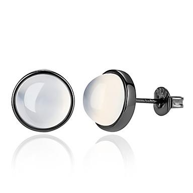 povoljno Modne naušnice-Žene Žad Sitne naušnice Magic Back Earring dame Osnovni Moda Naušnice Jewelry Obala Za Dnevno Izlasci