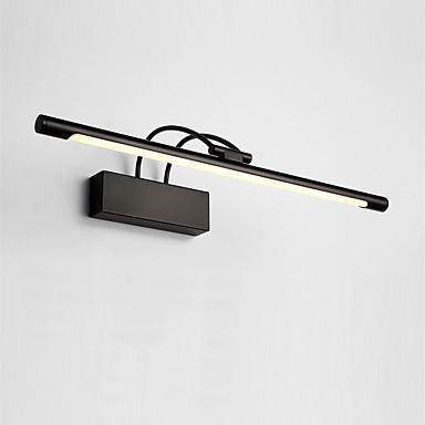 75cm 16w βόρεια ευρώπη σύγχρονη μέταλλο οδήγησε καθρέφτη λάμπα καθιστικό γραφείο φώτα μπάνιο φωτισμός μακιγιάζ φωτισμός
