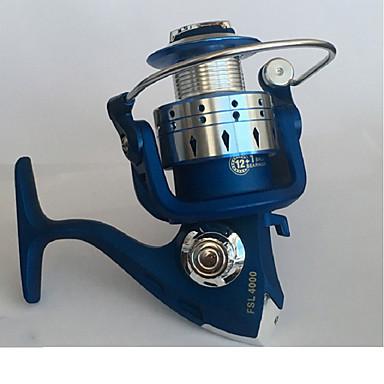Περιστρεφόμενοι Μηχανισμοί 5.2:1 Αναλογία Ταχυτήτων+13 Ρουλεμάν Προσανατολισμός χέρι ανταλλάξιμο Θαλάσσιο Ψάρεμα / Δολώματα πετονιάς / Ψάρεμα Πάγου - FSL4000/528 / Ψάρεμα Γλυκού Νερού / Γενικό Ψάρεμα