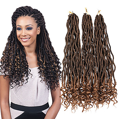 Curly Sister Locs Micro Locs New Arrival Ombre