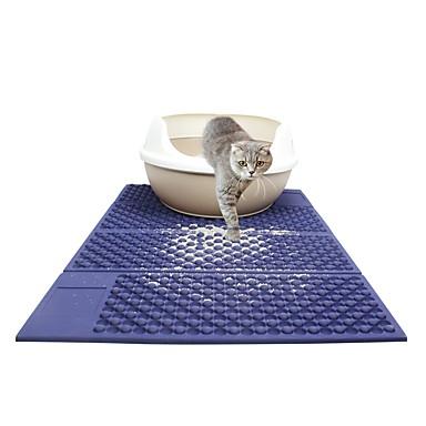 preiswerte Katzenhygiene & Weltkarten zum Auskratzen-Katze Hund Betten Haustiere Matten & Polster Solide Tragbar Doppel-seitig Klappbar Schwarz Dunkelblau Für Haustiere