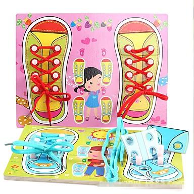 levne 3D puzzle-Dřevěné puzzle Klasický motiv Speciálně navržené Zbavuje ADD, ADHD, úzkost, autismus Interakce rodič-dítě Dřevěný Dětské Chlapecké Dívčí Hračky Dárek