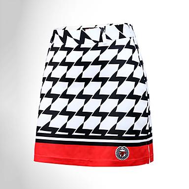 Γυναικεία Γκολφ Φούστες Καρό / Τετραγωνισμένο Αντιανεμικό Γρήγορο Στέγνωμα Ικανότητα να αναπνέει Αθλητισμός Golf Υπαίθρια Άσκηση Κόκκινο Σκούρο Μπλε Μαρέν Αθλήματα & Ύπαιθρος