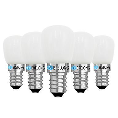 παράταση 5 τμχ 2w λαμπτήρες ψυγείου με ρυθμιζόμενο φωτισμό 220v e14 / e12 / άσπρο / ζεστό λευκό