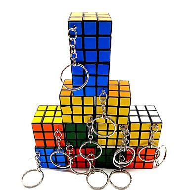 Magic Cube IQ Cube 3*3*3 Ομαλή Cube Ταχύτητα Μαγικοί κύβοι Κατά του στρες παζλ κύβος Διαφανές αυτοκόλλητο Με Μπρελόκ Επαγγελματικό Παιδικά Ενηλίκων Παιχνίδια Αγορίστικα Κοριτσίστικα Δώρο